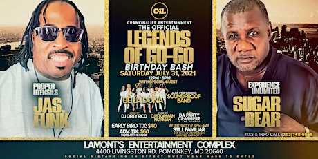 LEGENDS OF GO-GO BIRTHDAY BASH tickets