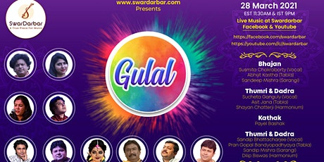 Gulal - Indian Classical Music & Dance Festival of Spring tickets