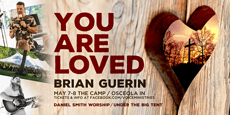 "Brian Guerin: The ""You Are Loved"" Conference tickets"