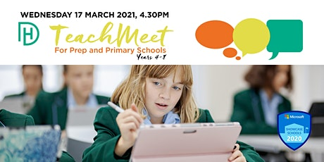 TeachMeet for Prep and Primary (Years 4 - 8) tickets