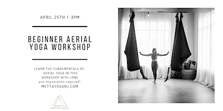 Beginner Aerial Yoga Workshop tickets