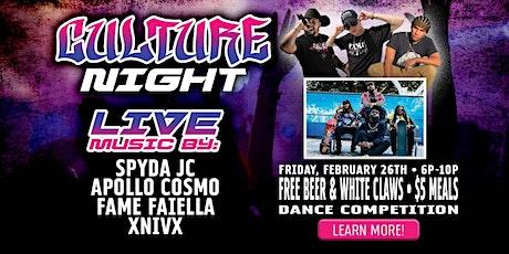 Culture Night tickets