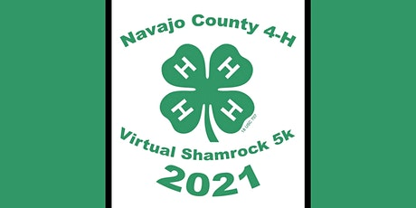 Navajo County 4-H Virtual Shamrock 5K entradas