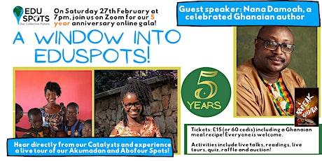 5 Year Anniversary Gala: A Window into EduSpots tickets