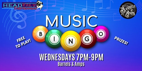 Music Bingo at Barrels & Amps tickets