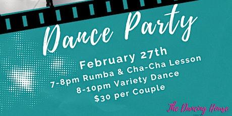 Dance Party - Rumba & Cha-Cha tickets