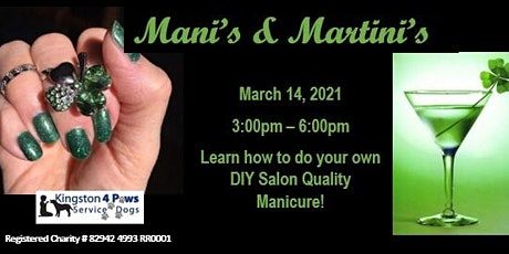 Mani's & Martini's - March Edition tickets