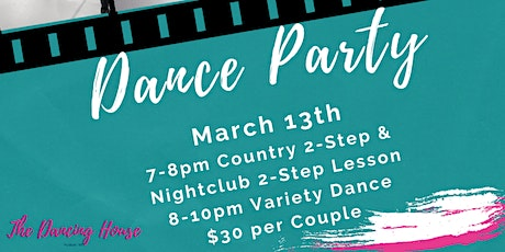 Dance Party - Country 2-Step & Nightclub 2-Step tickets