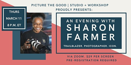 An Evening with Former White House Photographer Sharon Farmer tickets