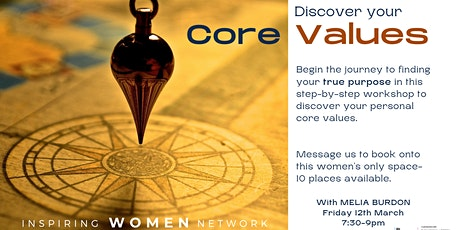 Workshop: Discover You CORE VALUES tickets