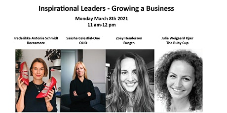 Inspirational Leaders – Growing a Business tickets