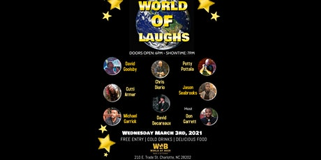 World of Comedy - March 3rd tickets