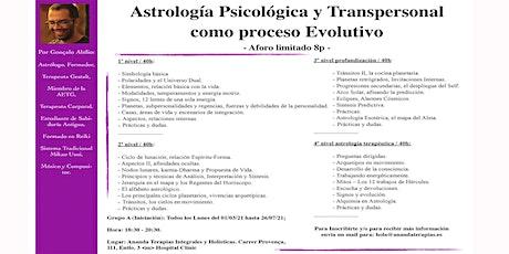 Curso de Astrología Psicológica y Transpersonal - Nivel 1 entradas