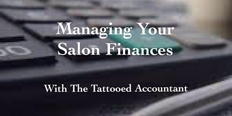 Salon Finances - Budgets & Profit and Loss Accounts tickets