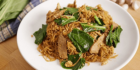 Virtual cook-along Thai cooking class - Pad See Ew (Stir-fried rice noodle) tickets
