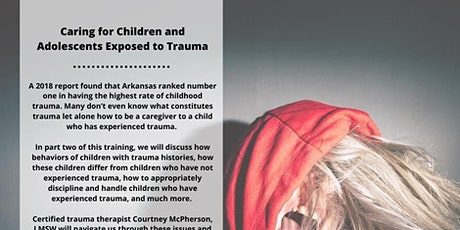 Caring for Children Exposed to Trauma tickets