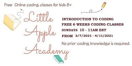 Free 6-Week Online Coding Course for Kids biglietti
