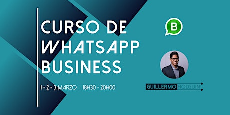 Curso de WhatsApp Business - Online entradas