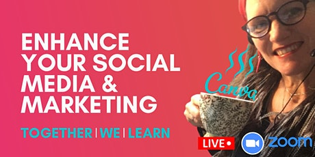 Canva for Beginners Morning Workshop  Live via Zoom tickets