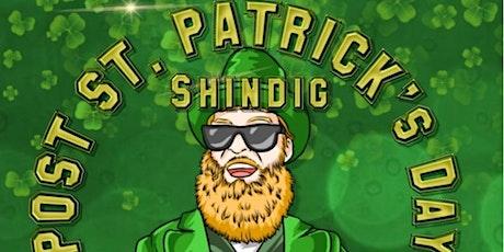Chris Aldridge Presents The Post St Pattys Day Shindig at Sam's tickets
