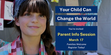 Parent Info Session tickets