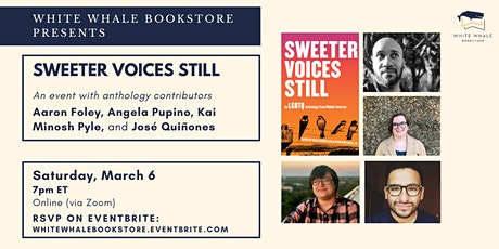 Reading for Sweeter Voices Still Anthology: Foley, Pupino, Pyle, Quiñones tickets