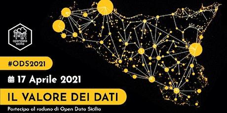 #ODS2021   Il Raduno 2021 di Open Data Sicilia biglietti