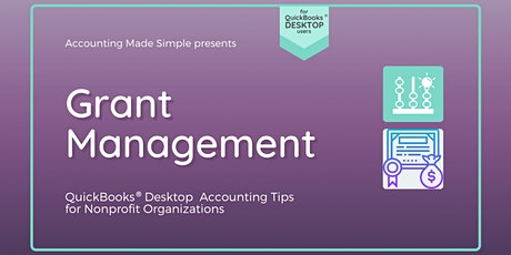 Nonprofit Grant Management for QuickBooks Desktop Users tickets