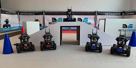 Online Robowars met vrienden, familie of collega's tickets