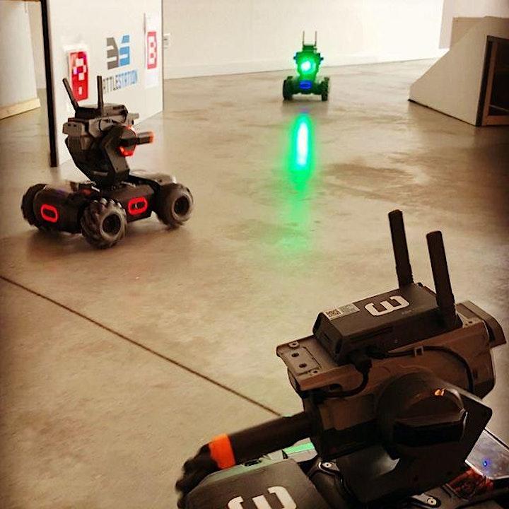 Afbeelding van Online Robowars met vrienden, familie of collega's