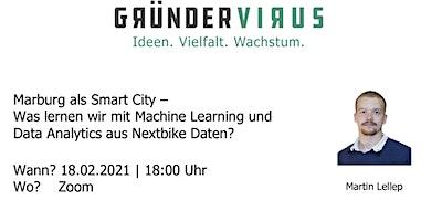 Marburg als Smart City – Machine Learning und Data Analytics mit Nextbike