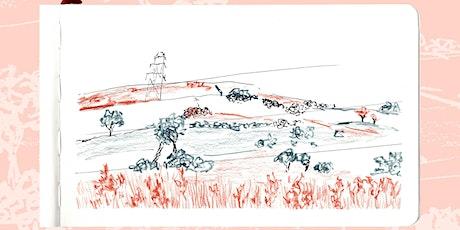 Online Art Class- Landscapes tickets