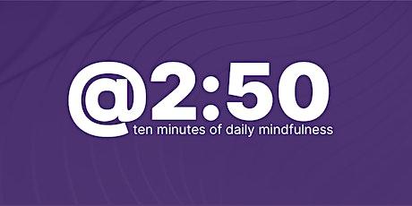 MIT@2:50 Eastern European Time - (GMT +2) billets