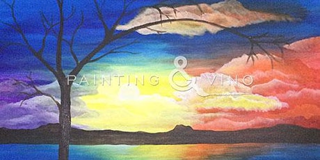 "Online Painting Class - ""Mystic Sunset"" tickets"