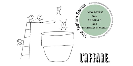 Tasters Series V2, Nelson, The Coffee Factory tickets