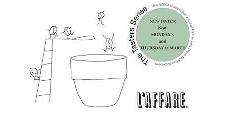 Tasters Series V2, Wellington, Caffe L'affare tickets