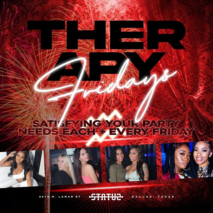 TherapyFridays All Black Party Juneteenth  weekend image