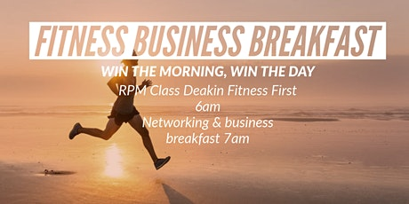 Fitness Business Breakfast tickets