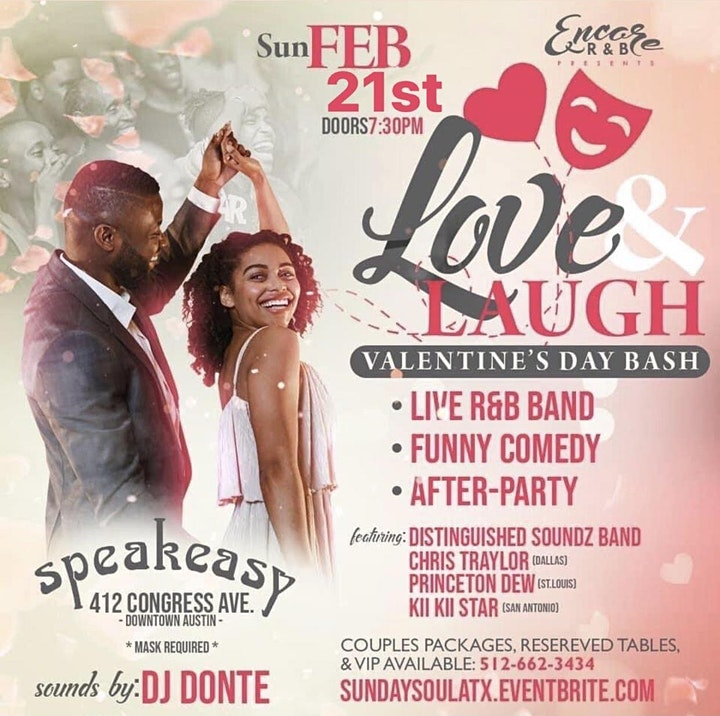 Love & Laugh Valentines Day Bash | 2.21 image