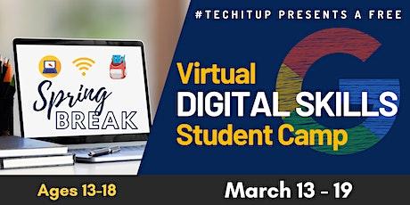 #TechItUp Digital Skills Student Camp tickets