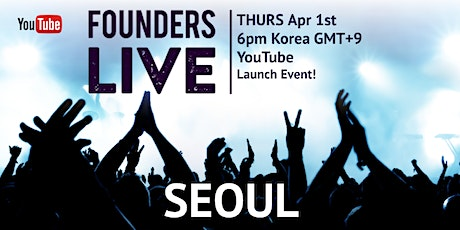 Founders Live Seoul tickets