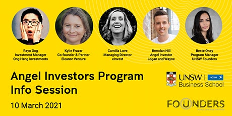 Angel Investors Program | Information Session by UNSW Founders & AGSM tickets