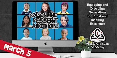 2021 ACA Online Dessert Auction - Mar. 5 tickets