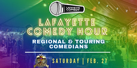 Lafayette Comedy Hour: A Stand-Up Comedy Showcase at The Wurst Biergarten tickets