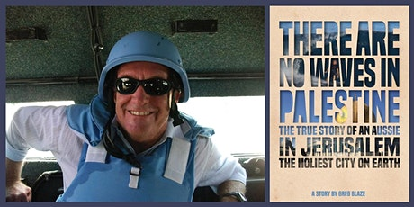 Author event: There Are No Waves in Palestine by Greg Blaze - Forster tickets