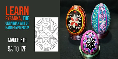 Pysanka Egg Dying & Design tickets