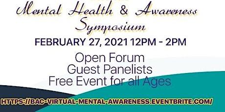 Virtual Mental Health & Awareness Symposium tickets
