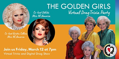 The Golden Girls Virtual Drag Trivia Party tickets