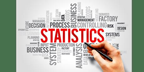 4 Weekends Only Statistics Training Course in Zurich tickets