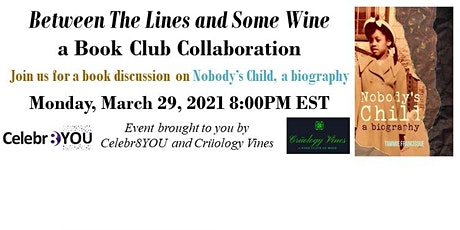 Celebr8YOU & Crüology Vines - Between The Lines & Some Wine Book Club 6 tickets